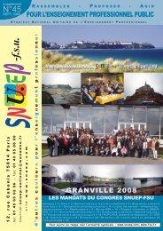 Journal n° 45 - Le Snuep