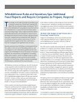 Hedging Your Bets Against the Whistleblower Trifecta - CohnReznick - Page 3