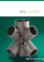 Why Jumbo? Download, 797 KB - BLM GROUP