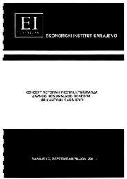 Reforma komunal sektora.pdf - Skupština Kantona Sarajevo