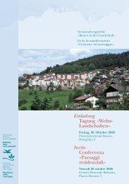 Einladung - Architekten Mahlknecht