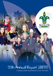 99th Annual Report 2007/8 - Scouts Queensland