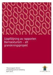 Tillsynsrapport 2013 3.pdf - Åklagarmyndigheten