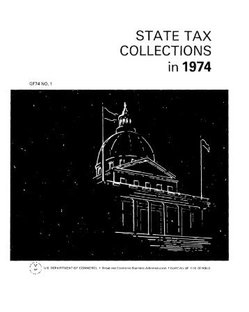 STATE TAX COLLECTIONS in 1974
