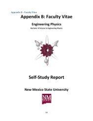 Appendix B - Engineering Physics - New Mexico State University