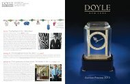 Download pdf of Auction Preview - Doyle New York