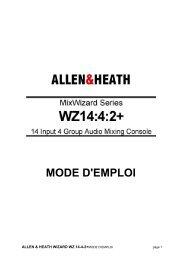 allen & heath - wz14:4:2 - Audiopole