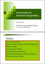 Introduction to Introduction to biochemical genetics