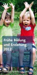 Frühe Bildung und Erziehung 2012