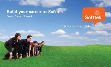Build your career at Softtek