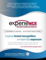 opportunities - American Academy of Pediatrics National ...