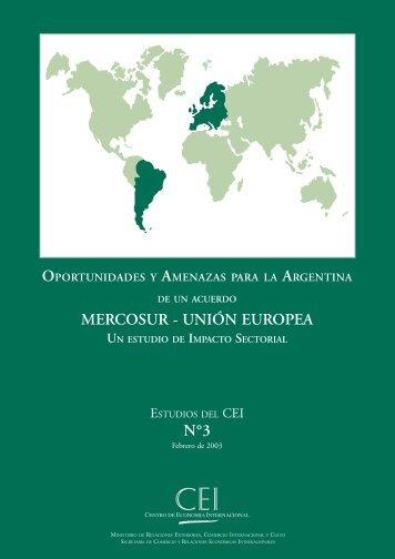 oportunidades y amenazas para la argentina - SICE