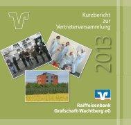 Kurzbericht 2012.pdf - Raiffeisenbank Grafschaft-Wachtberg eG
