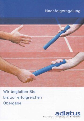 Nachfolgeregelung - adlatus Zentralschweiz/Tessin