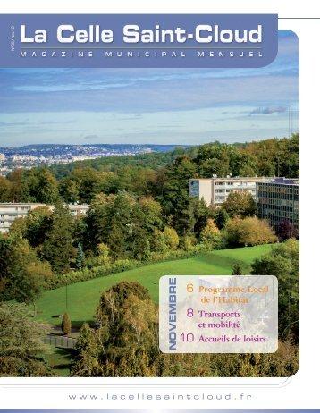 n°88 - Novembre 2012 - La Celle Saint-Cloud