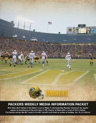 Playoff Bye Week Release.indd - NFL.com