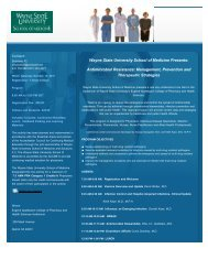 Antimicrobial Resistance: Management, Prevention and ... - SHEA