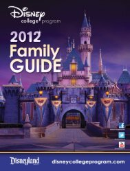 GUIDE Program - Disney Careers