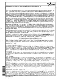 Sicherheitshinweise zum Direkt-Banking-Angebot der BBBank eG