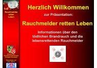 Info Rauchmelder - Feuerwehr Kaltenbrunn