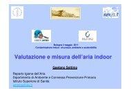 Valutazione e misura dell'aria indoor - Ordine dei Chimici di ...
