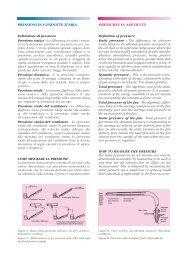 Pressioni in condotte d'aria - Ventilazione Industriale