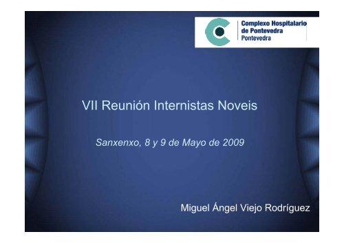 VII Reunión Internistas Noveis