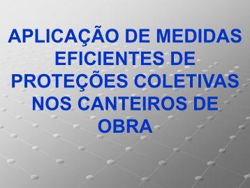 Medidas de proteção coletiva eficazes a ser ... - Trabalho e Vida