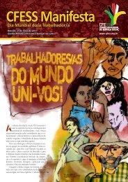 CFESS Manifesta Dia Mundial do/a Trabalhador/a