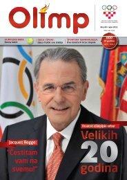 OLIMP 40 - rujan 2011. - Hrvatski Olimpijski Odbor