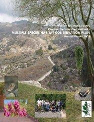 Annual Report 2005 (62.7MB) - Western Riverside County Regional ...
