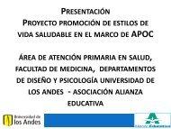 Presentación_AAE 2012 - designblog - Universidad de los Andes