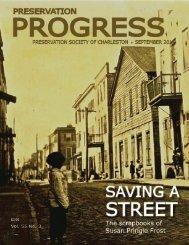 from the president - Preservation Society of Charleston