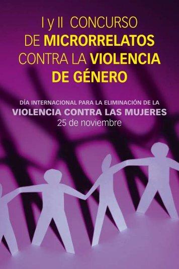 Microrrelatos contra la violencia de género. I y II Concurso - THAM