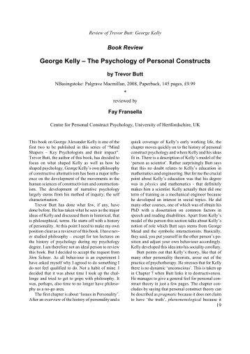 PSY 230 WEEK 7 Week 7 Quiz – Personal Constructs Quiz