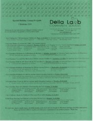 Special Holiday Group Projects PDF - Della Lamb Community ...
