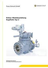 Einbau- und Betriebsanleitung | DE | PDF - Franz Schuck GmbH