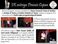 Boletín Informativo Septiembre 2011/Premio Copán y Premio ...
