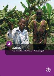 4. Diversity - Food, Agriculture & Decent Work