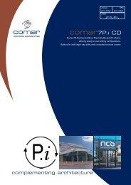 Comar 7P.i Commercial Swing Door - ecoSHOWCASE