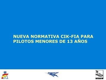 Normativa FIA - nacional