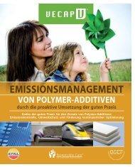 flussdiagramm zu polymer-additiven - VECAP