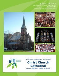 Christ Church Cathedral - Growing in Faith Together