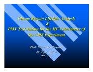Ξc - The University of Iowa High Energy Physics CMS Group