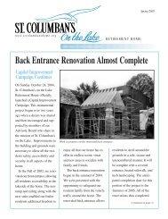 St. Col. Newsletter Spring-Web - St. Columban's on the Lake ...