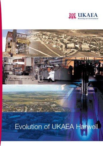 Harwell Evolution Brochure - Research Sites Restoration Ltd