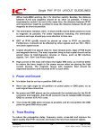 Single PHY IP101 LAYOUT GUIDELINES 1. Introduction 2. Placement - Page 2