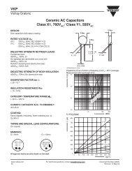 VKP Ceramic AC Capacitors Class X1, 760V / Class Y1 ... - Rockby