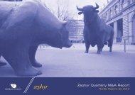 Zephyr Quarterly M&A Report - DVCA
