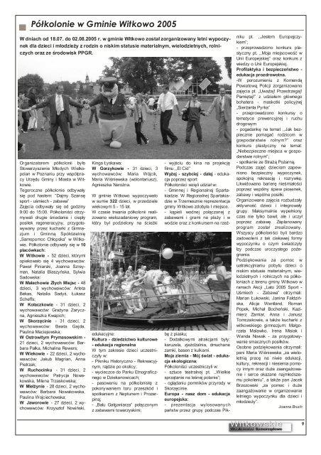WWS 9-2005 - Witkowo